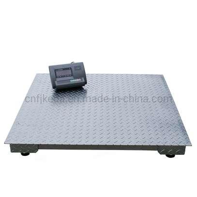 Floor Type Digital Weighing Scale 1000kg Checker Plate. image 1