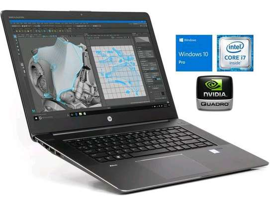 Hp Zbook Studio G3 ,16gb Ram,512ssd,4gb Nvidia Graphics card Gaming Laptop Touchscreen image 1