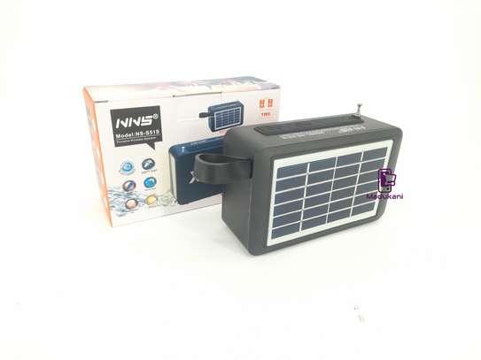 NNS NS-S51S XBASS Bluetooth FM Solar Pocket Radio image 4