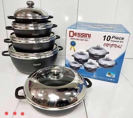 Cooking Ware*10 Piece*Dessini*KSh6500 image 1