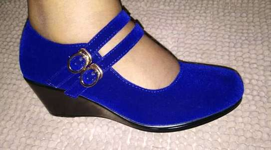 Blue Open Shoe