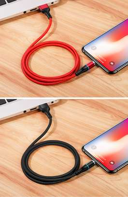 USAMS U32 Lightning Aluminum Alloy Magnetic Charging And Data Cable 1m image 3