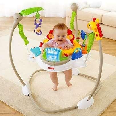 Baby jumperoo/ Jungle Jumper-Multicolor image 1