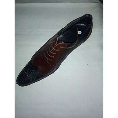 Men's Shoes-Black And Brown image 1