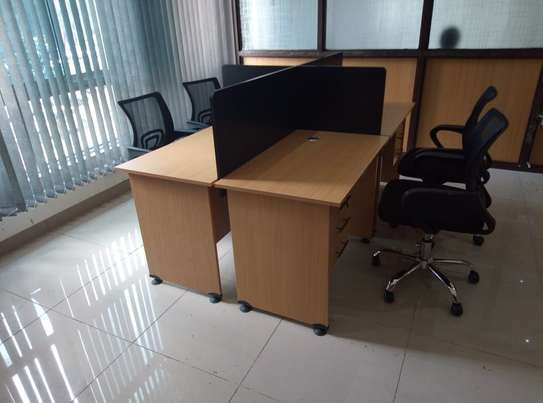 4 Way Office Workstation image 2