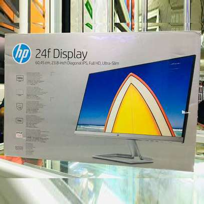 HP 24F Ips Full HD Display Tft Monitor + HDMI & VGA Cables image 2