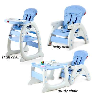 3-in-1 Baby Dining Chair Seat Multifunctional Child Seat Children Eating Table Chair Infant Feeding Chair image 4