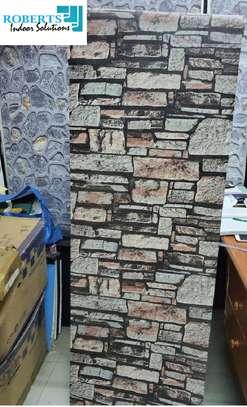 brown bricks wallpaper image 2