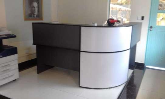 L-Shaped Reception Desk image 1