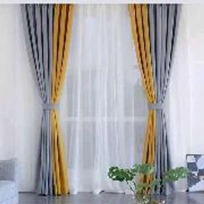 Elegant high quality double sided Curtains image 8