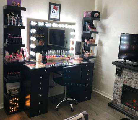 LED light dressing table designs/black dressing mirror/vanity dressing mirrors for sale in Nairobi Kenya image 1