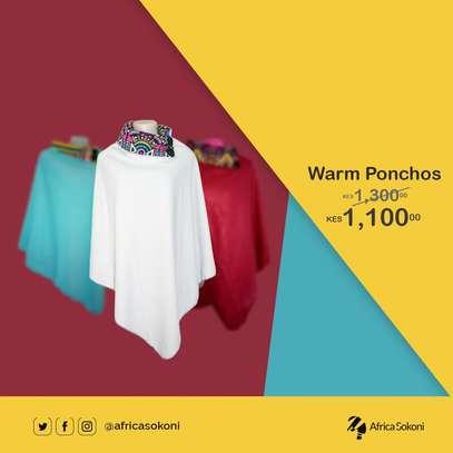 Stylish Warm Ponchos image 1
