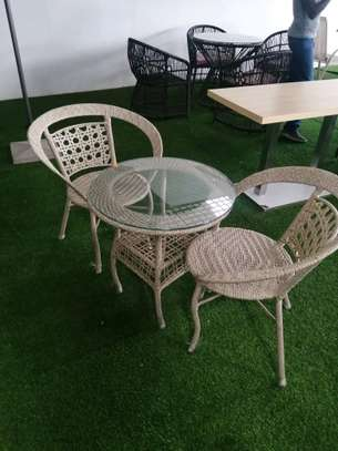 Outdoor chairs image 1