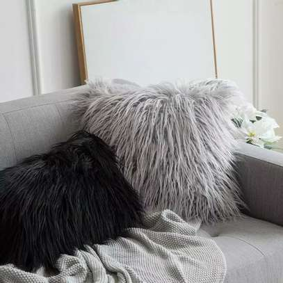 Fluffy Throw Pillows image 2