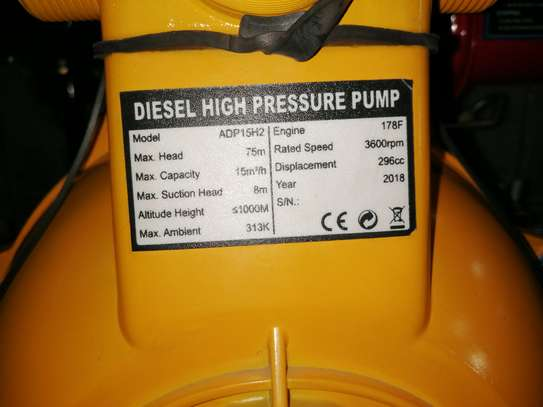 6HP Diesel high pressure pump image 2