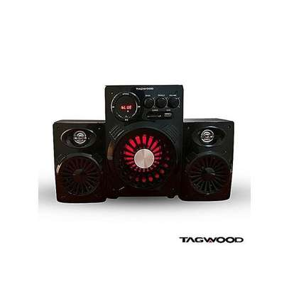 TAGWOOD MULTIMEDIA SUBWOOFER WITH USB/SD/FM/BT -BLACK WITH 6000W image 1