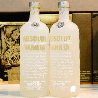 Absolut Vanilla Vodka 40% 100cl 1Ltr 1000ml image 2