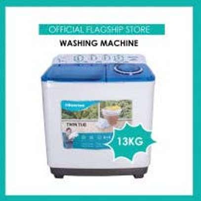 NEW Hisense XPB130-2009SK 13KG Washing Machine image 1