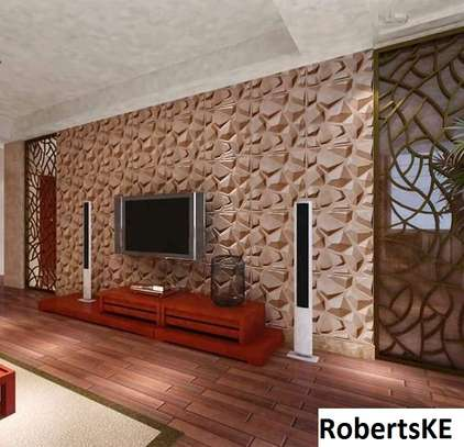 indoors/outdoor decor 3D wall panels image 3
