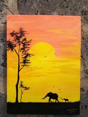 maasai mara sunset image 2
