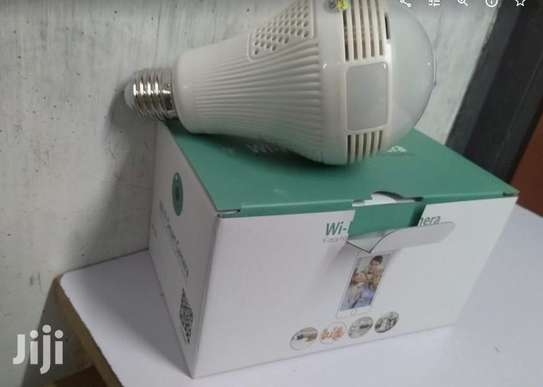 CCTV Bulb Cameras Panaromic With Memory Card Slot image 1