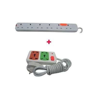 Power King 6 way With Small power extension For Home Use image 1