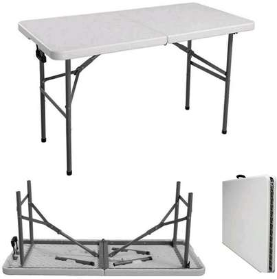 Foldable Long Tables ( New) image 1