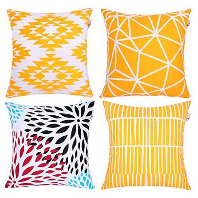 Decorative Unique Throw Pillow Case Cushion Covers a set of 4 pieces at Ksh. 3200 image 2