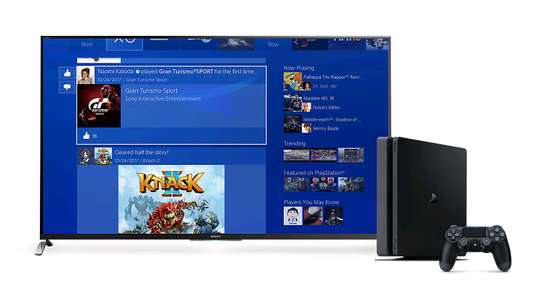 PS4 + Synix 43 Digital Tv image 1