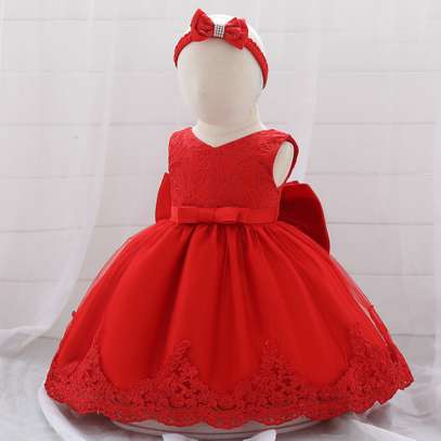 Multi-layer Girl's Dress  (3months-2yrs) image 6