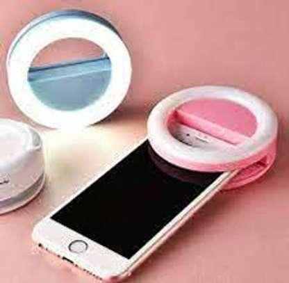 Rk-14 Selfie Ring Light for Mobile Phones image 1