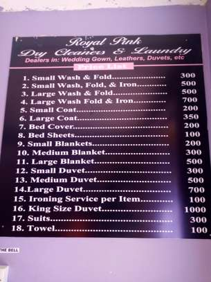Drycleaners and laundry image 1