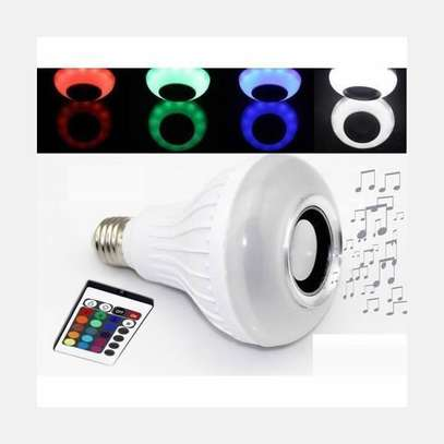LED Music Bulb with Bluetooth and Music Player image 2