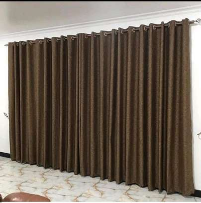 PLAIN BEAUTIFUL CURTAINS TO BLEND WITH YOUR HOME image 1
