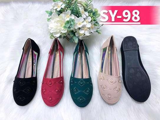 Fancy lady flat shoes image 5