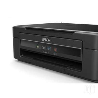 Epson L382 - Inkjet Color Printer Scanner - Black image 1