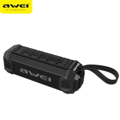 Awei Y280 Portable Wireless Bluetooth Speaker With 4000 mAh Power Bank image 1