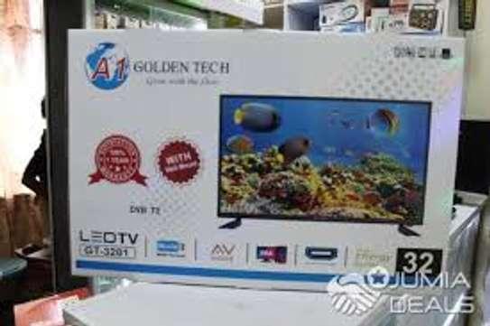 Digital LED Golden Tech TV32 Inch AC/DC Solar Powered image 1