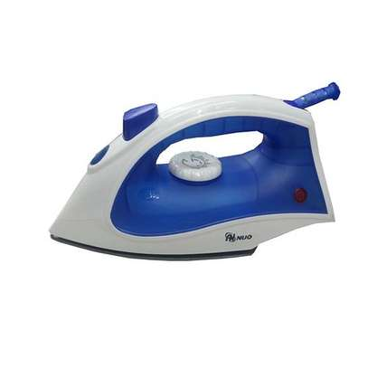 Steam Iron Box For All Clothe Types- 1800W - White & Blue