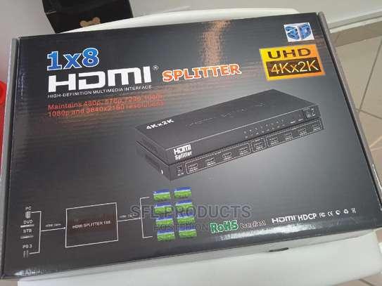 HDMI 1X8 SPLITTER image 1