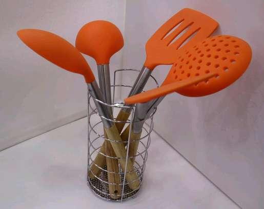 Silicon spoon set image 2