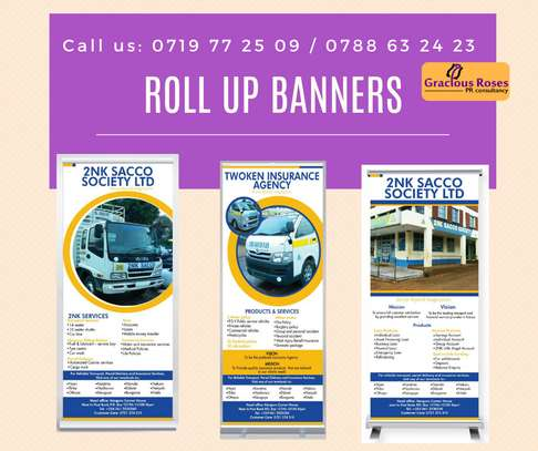 brading printing Branding, Marketing, Website design, Printing, Brochures, Banners, Stickers, Posters, Business cards, T-shirt branding, Company profile, reflector branding image 1