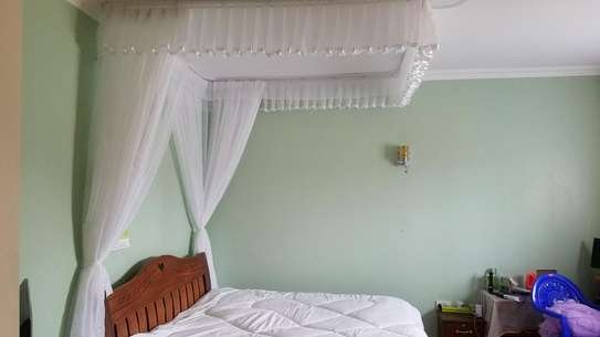Rail Shears Mosquito Nets Sliding Like Curtains Fixed On The Ceiling image 4
