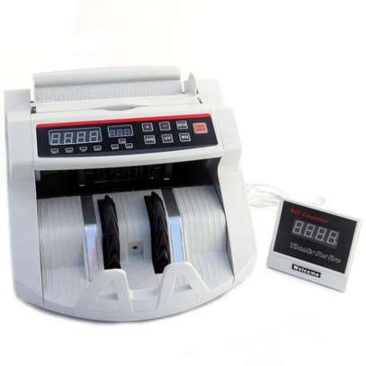 Bill Counter Money Counter with UV & MG--2108 image 4