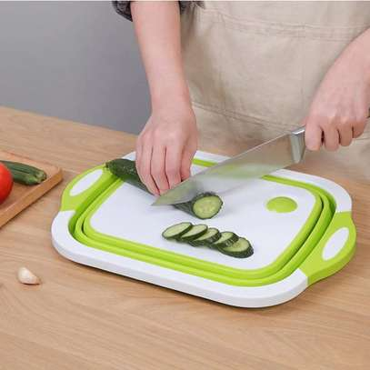 Foldable chopping board /drainer image 3
