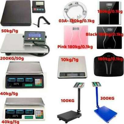 Electronic Computing Digital Platform Scales-30KGS To 1000Kgs image 1