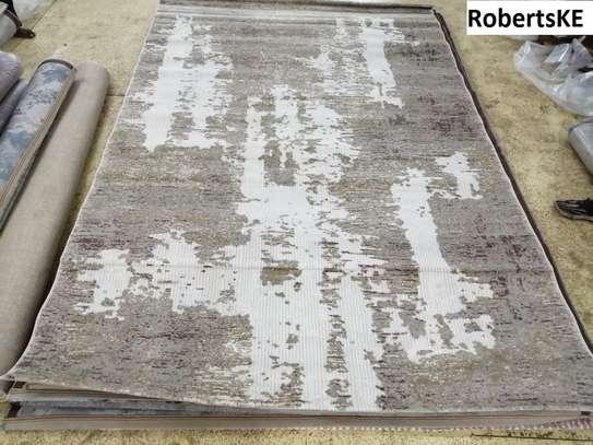 Durable Elegant non-skid persian carpet image 2