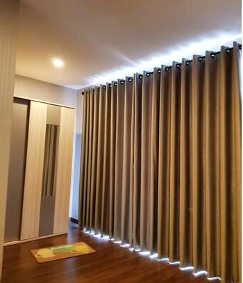 EUROPEAN MODERN COTTON LINEN CURTAINS image 2
