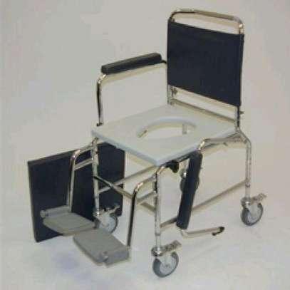Commode wheelchair/toilet wheelchair image 3