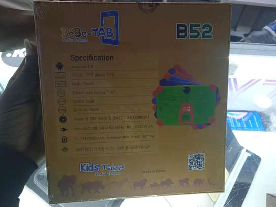 Kids Tablets 16gb 2gb ram I-Touch B52 Tablets in shop+Delivery image 2